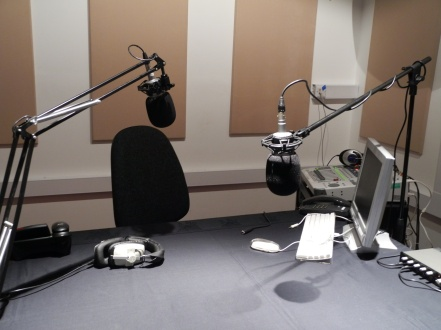 A radio interview